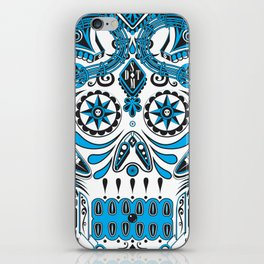 Straight Down the Middle iPhone Skin