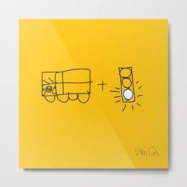 Artist Series: Van Go Metal Print