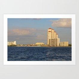 Shoreline in Fort Myers II Art Print
