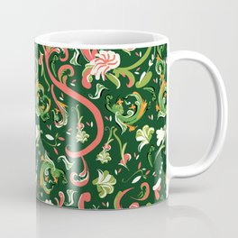 Swirly Trendy_Green Coffee Mug