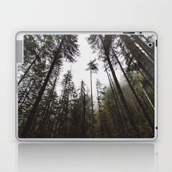 Pacific Northwest Forest Laptop & iPad Skin