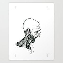 Neckfix Art Print
