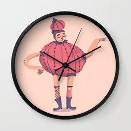 Teapot dress Wall Clock