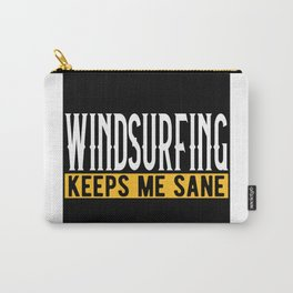 Windsurfing Lovers Gift Idea Design Motif Carry-All Pouch