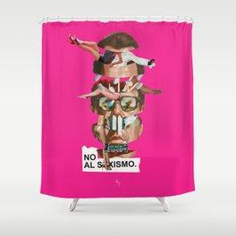 NO AL SEXISMO Shower Curtain