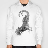 capricorn Hoodies featuring Capricorn by PAgata