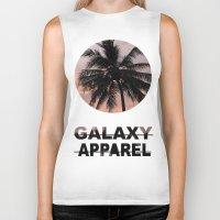 palm Biker Tanks featuring PALM by GALAXY APPAREL