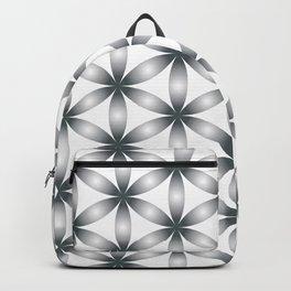 Sacred Geometry Gray Pattern Backpack