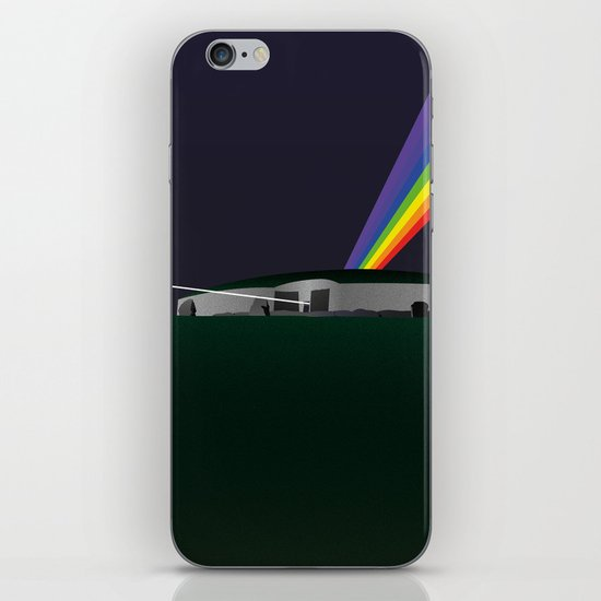 Dark Side Of The Mound iPhone & iPod Skin