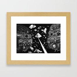 Containment Breach Framed Art Print