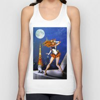 sailor venus Tank Tops featuring Sailor Venus by Nelson Rodrigues