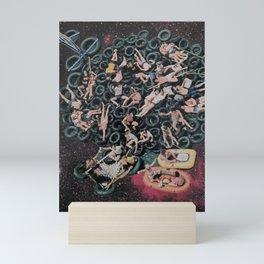 TUBIN' Mini Art Print