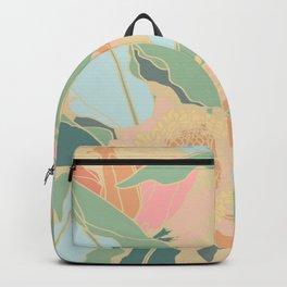 Hawaiian Ginger Floral in Sorbet Backpack
