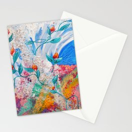 Earth, Water, Wind, Fire & Aether Stationery Cards