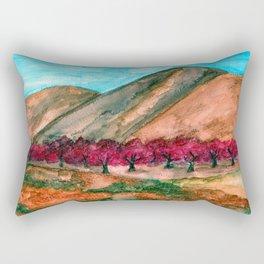 Driving Down the 5 Rectangular Pillow