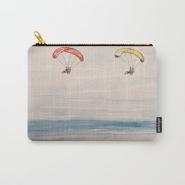 Paragliding along the beach  Carry-All Pouch
