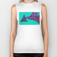 prism Biker Tanks featuring Prism by Kate Shea