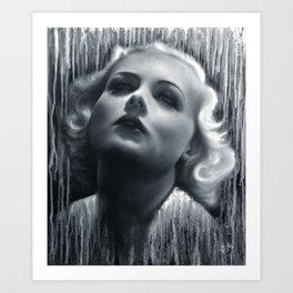 Carole Lombard, 1933 Art Print