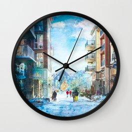 Blue Mountain Village, Ontario Wall Clock