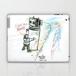 """I Wuv you Robot"" Laptop & iPad Skin"
