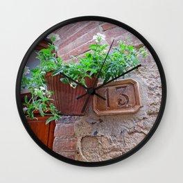 13 - Planter Door Wall Clock