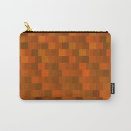 Wooden Tree Ring Pattern Carry-All Pouch
