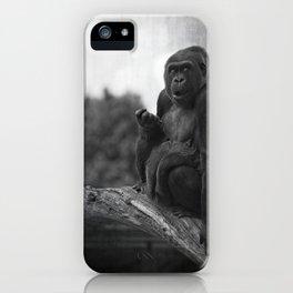 Asante The Western Lowland Gorilla iPhone Case