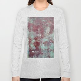 Background. Grunge and rusty metal surface Long Sleeve T-shirt