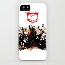 Polish Power iPhone Case