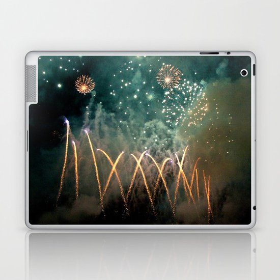 Fireworks Face Laptop & iPad Skin
