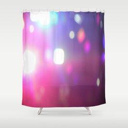 Concert Lights Shower Curtain