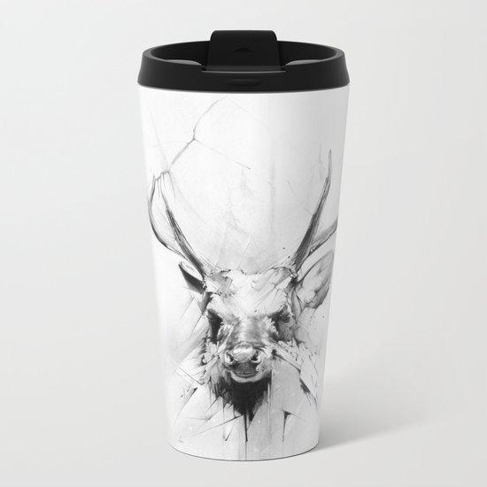 Stag Metal Travel Mug