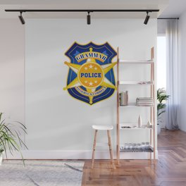 Grammar Police To Serve And Correct For Halloween Wall Mural