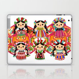 Mexican Dolls Laptop & iPad Skin