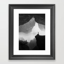 Parallel Isolation Framed Art Print