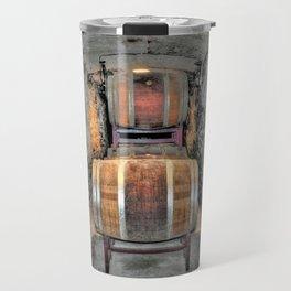 Wine Barrels Travel Mug