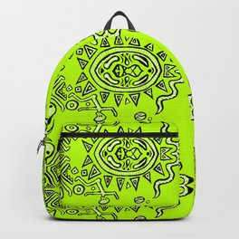 Half of a Mandala System Backpack