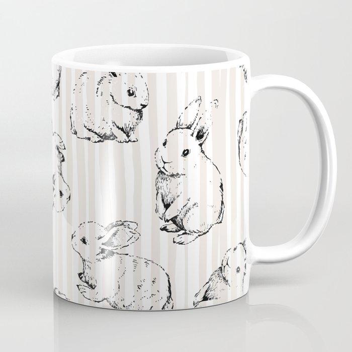 Vintage Bunnies Coffee Mug