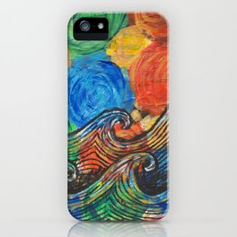 Waves in my Dreams iPhone Case