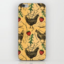 Charming Chickens iPhone Skin