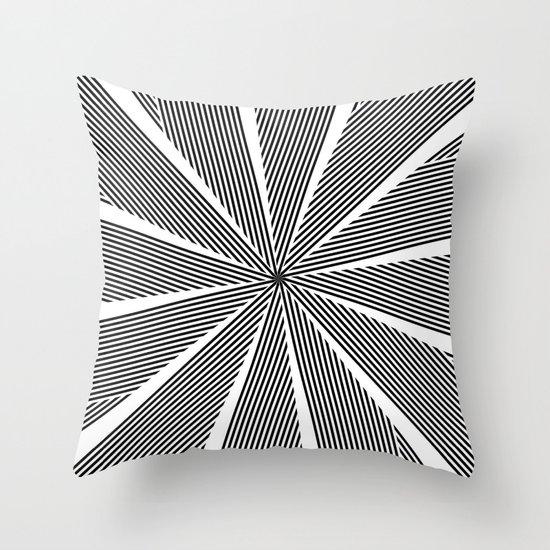 5050 No.9 Throw Pillow