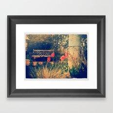 Bench 2 Framed Art Print