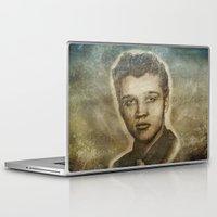 elvis presley Laptop & iPad Skins featuring Elvis Presley by Dan99