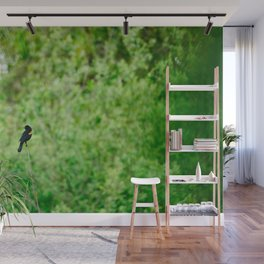 Red-Winged Blackbird Wall Mural
