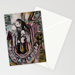 """""""Welcome to My World"""" by Lindsay R. Wiggins Stationery Cards"""