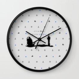 """KNIGHT ROOK """"Starfish"""" Wall Clock"""