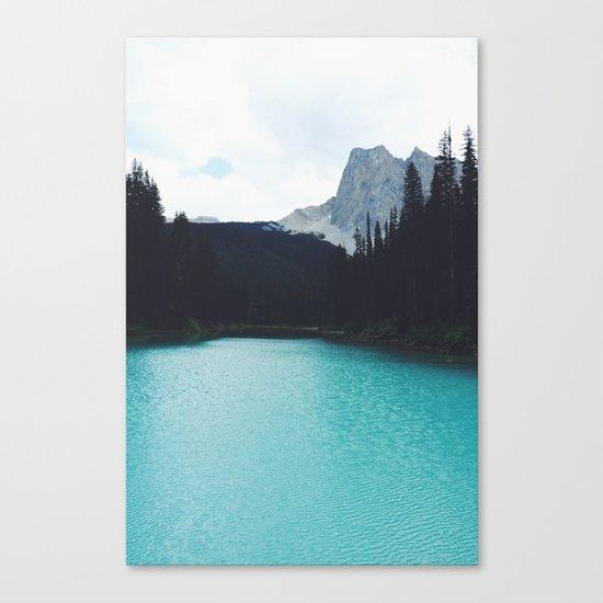 Moody Emerald Lake Canvas Print