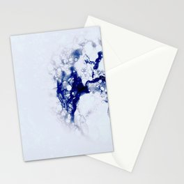 Blue Bee Hive Stationery Cards