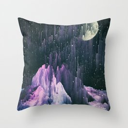 Silent Skies Throw Pillow
