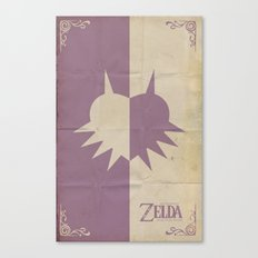 Majoras Mask Canvas Print